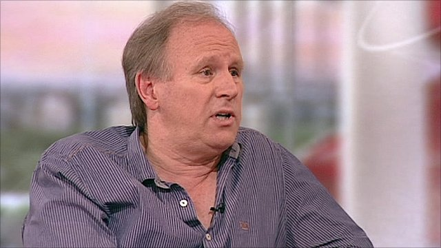 Media playback is unsupported on your deviceActor Peter Davison