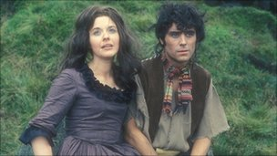 Angela Scoular as Cathy in Wuthering Heights
