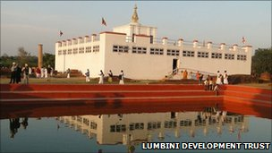 Lumbini Mayadevi temple