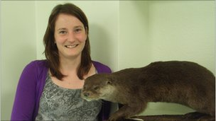 Eleanor Kean of Cardiff University Otter Project