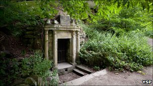 Lady Eglinton's Well courtesy YSP pic: Jonty Wilde