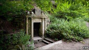 Lady Eglinton's Well courtesy YSP pic: Jonty Wilde
