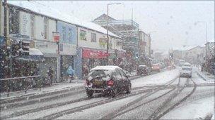Canton high street, Cardiff