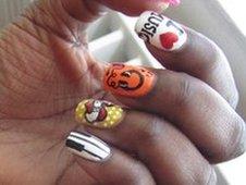 Keisha Buchanan's nails