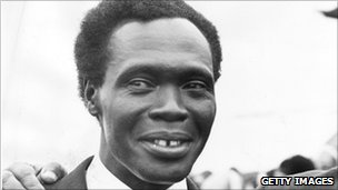 Former Ugandan leader Milton Obote