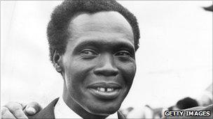 Former Ugandan leader Milton Obote