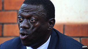 Ugandan opposition leader Kizza Besigye