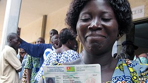 Togolese voter