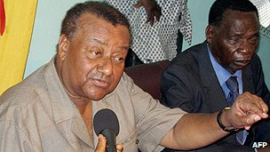 Togolese politician Gilchrist Olympio