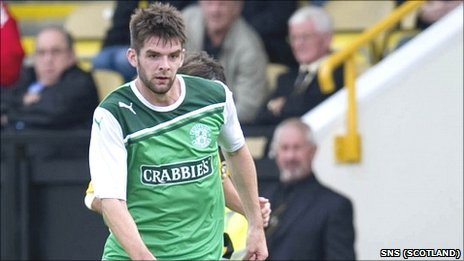 Cillian Sheridan was on trial at Hibernian