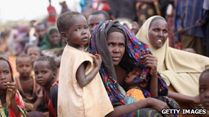 Refugees at Dadaab camp