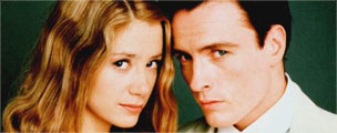 Mira Sorvino and Toby Stephens