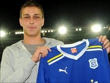 Filip Kiss [photo: Pete Thomas/Cardiff City FC]