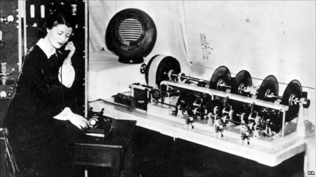 Jane Cain was the first voice of the speaking clock in 1936
