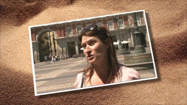 Tourist in Madrid