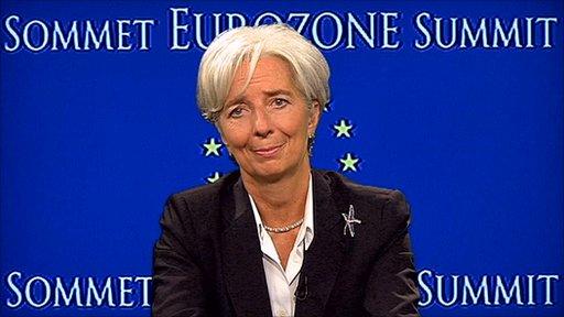The IMF's Christine Lagarde