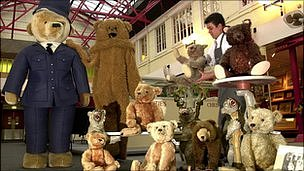 Teddy bear auction