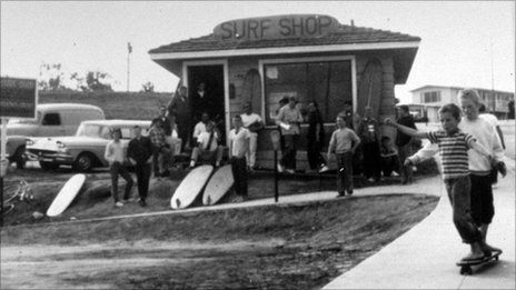 Jack O'Neill's first surf shop