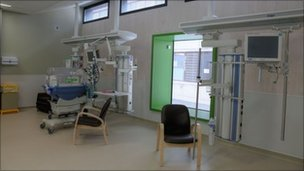 The Dyson Centre neo-natal care unit at Bath Royal United Hospital