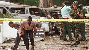 Aftermath of terror attack on Dar es Salaam