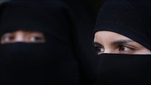 Veiled women
