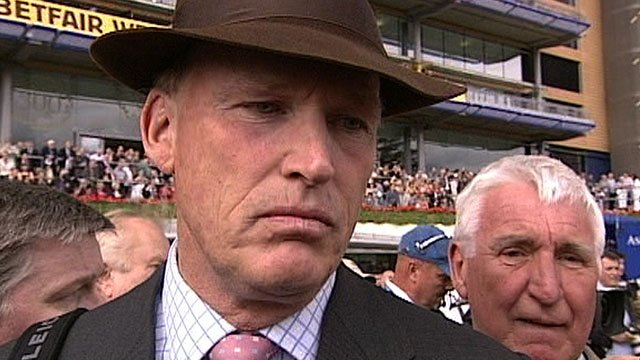 John Gosden, trainer of Nathaniel