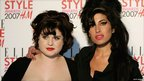Kelly Osbourne and Amy Winehouse