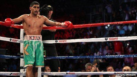Britain's Amir Khan