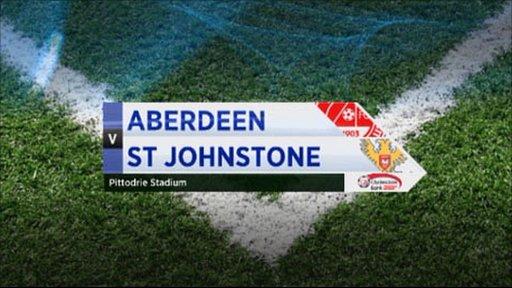 Aberdeen v St Johnstone