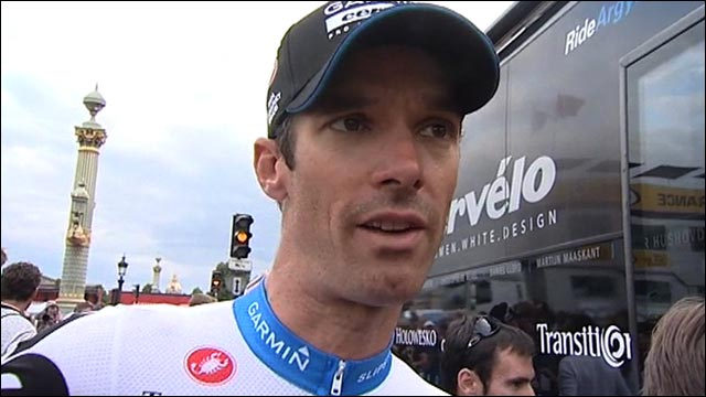 British cyclist David Millar