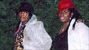 Charlene Ellis (l) and Letisha Shakespeare