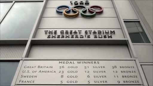 The 1908 Olympic Games were held in London
