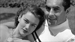 Linda Christian and Tyrone Power