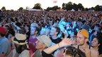 Crowd watching Scissor Sisters