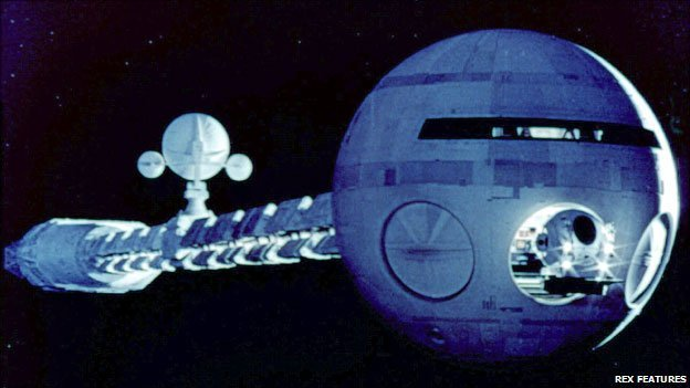 Spaceship from 2001: A Space Odyssey