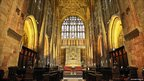 Inside Sherborne Abbey
