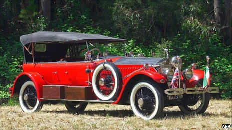 The 1925 customised Rolls Royce