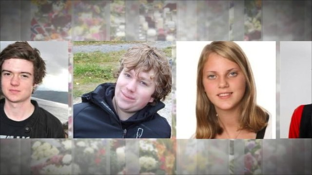 Some of the victims of the mass killings