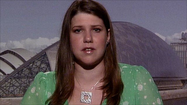 Scottish Liberal Democrat MP Jo Swinson