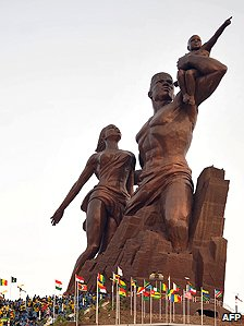 Senegalese independence monument