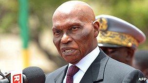 Senegalese President Wade