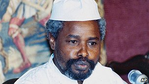 Chadian ex-president Habre