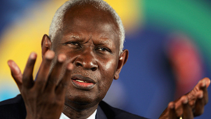 Senegalese former president Diouf