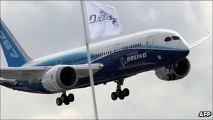 Boeing's new long-haul jet, the 787 Dreamliner