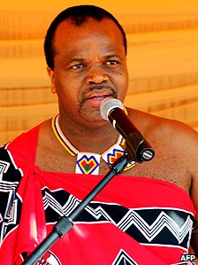 Swazi King Mswati