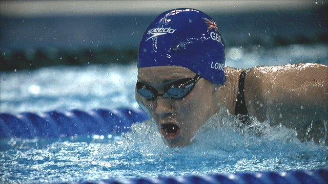 Jemma Lowe will start as the fastest qualifier in 200m butterfly
