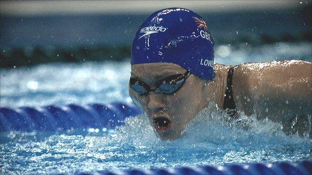 Jemma Lowe will start as the fastest qualifier in 200m butterfly