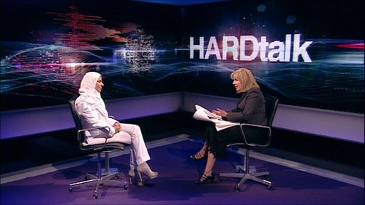Hardtalk studio Carrie Gracie and Princess Saud