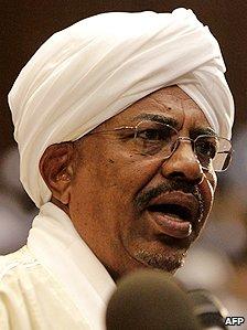 Sudanese President Omar Bashir