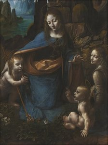 The Virgin of the Rocks, between 1483 and 1486